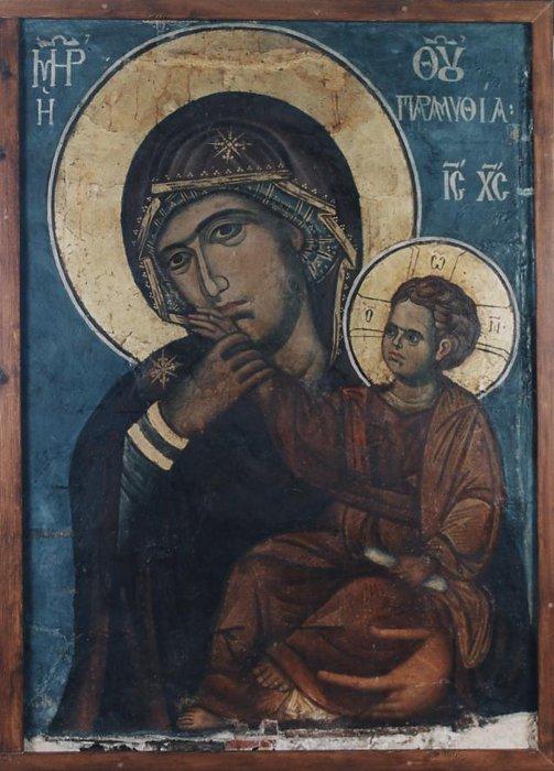أيقونات عجائبيّة من الجبل المقدَّس:  في دير فاتوبيذي