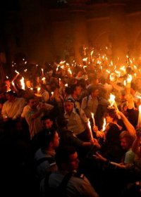 النور المقدس 2015 معجزة مؤثرة