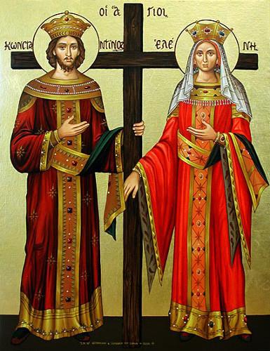 كلمة البطريرك ثيوفيلوس الثالث بمناسبة عيد القديسين قسطنطين وهيلانة المعادلي الرسل