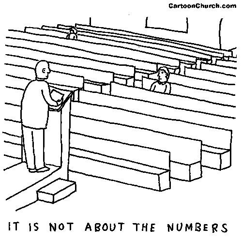 الأعداد في الكنيسة