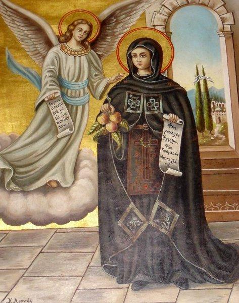 سيرة القديسة إيريني التي من خريسوفلاندو