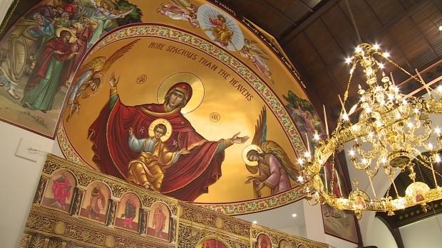 كنيسة الإنجيلي متى الأنجليكانية تحولت إلى كنيسة القديس أندونيوس الأورثوذكسية.