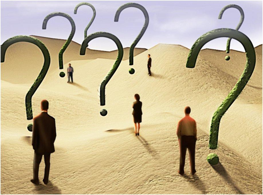 أسئلة وأفكار...