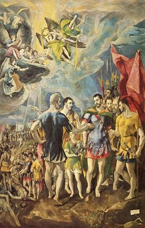 القديس موريق ورفقته ال70
